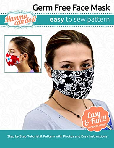 Germ Free Face Mask   Pattern: Children - Adult Sizing