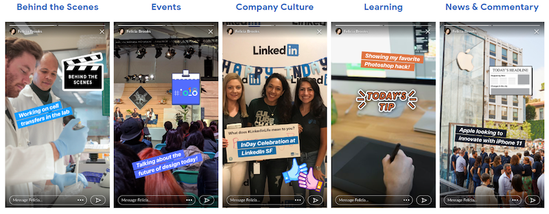 How to Build Your Brand with LinkedIn Stories: 7 Ideas & Tips
