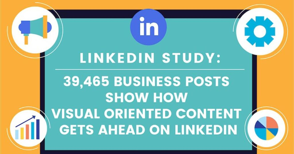 LinkedIn Content Engagement Benchmarks [Infographic]