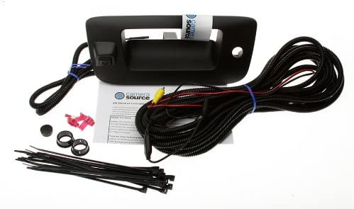 Camera Source CS-GMTRb Chevy Silverado/GMC Sierra Backup Camera for Universal Monitors (RCA)