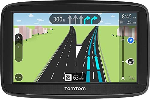 TomTom Via 1525TM-5 Inch GPS Navigation Device with Free Traffic, Free Maps of North America, Advanced Lane Guidance and Spoken Turn-By-Turn Directions