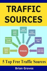TOP TRAFFIC SOURCES: My 5 Top Free Internet marketing Traffic Sources: Targeted Traffic + Conversions = Online Income